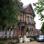 BayTree House, Hastings. Wonderful imposing Victorian mansion from the front.