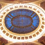 ceiling of Smetana Hall