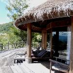 Baliem Valley Resort Trasse des Bungalows