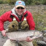 Pete with King Salmon