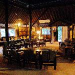 Karnali Lodge Dining hall