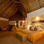 A bedroom at Solio Lodge