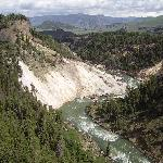Gran Canyon di Yellowstone