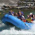  Rafting is one of the many activities you can do while staying here.