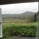 View from bedroom at Brynllydan