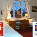  The family/double/twin room with Silver and Breakfast Awards.