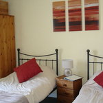 Twin room at the Harbour Guest House