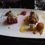 Lamb on beetroot (Appe