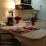  Fully Equipped Kitchens in Every Suite!