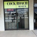 The Combat Cockroach Hall of Fame Museum