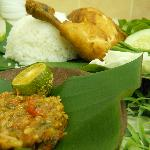 """Best Ayam Penyet in Brunei! ""Jeruton Lounge Chef Recommendation!"