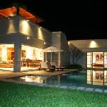 This is the Villa (house) at night UNREAL!!