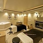 Inside the couples massage room ;)