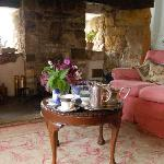  Tea in the sitting room