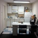 roomy kitchenet