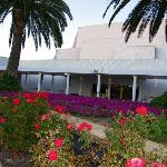  The Burswood Theatre and Colourful Flower bed