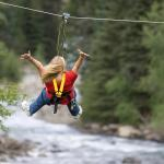 World's longest zipline includes criss-crossing the Animas River!