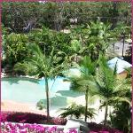 Relax and enjoy our lush tropical gardens