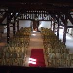 View of Tithe Barn from the minstrels gallery