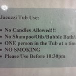  &quot;Jaccuzi Rules!&quot;