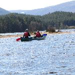  Canoeing on Loch Morlich