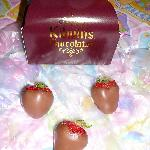  Chocolate Covered Strawberries from Kilwins Easter Day 2011