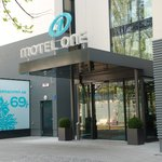 Eingang Motel One