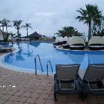 Main pool at resort