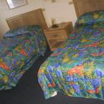 2 double bed kitchenette room