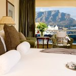 All rooms at The Table Bay Hotel have either a sea or mountain view.