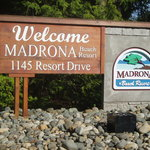 The entrance to Madrona