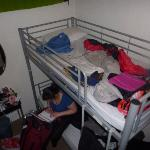 Our bunk room!