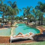 Murray Downs Resort, Swan Hill Tropical Pool