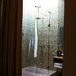 2m x 2m Skylight shower in Junior Suite