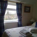  View of Chester wall from one of the double rooms