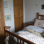The downstairs double room with en suite