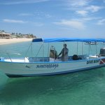 MANTA RAYA BOAT IS READY TO SCUBA !!!