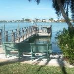 One of TWO docks, veiw from the gazebo