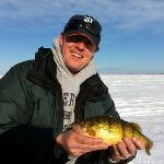  Ice Fishing! Nice Perch!