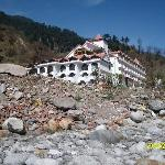 Hotel view from the bank of River Beas