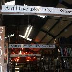 Awesome visit to Barter Books, one of the oldest second hand book stores in Europe.