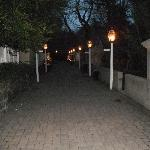 Privy lane at night
