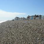 View of Aldeburgh beach