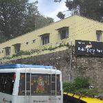 A view of the hotel from road
