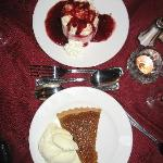 The pudding was the perfect end to a fantastic dinner.