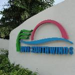 Outside the entrance of Divi Southwinds Beach Resort