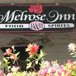 The Melrose abounds with flowers!