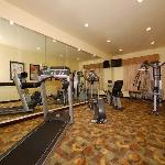 Enjoy a workout in our 24-hour Fitness Center