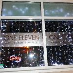 ONE ELEVEN front window