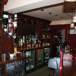 The Bar at the Black Horse Inn